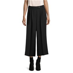 Betty & Co Textured Culottes Black