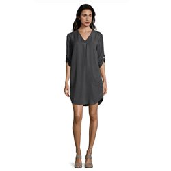 Betty & Co Lyocell Dress Grey
