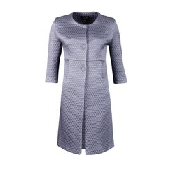 Fee G Blue Quilted Coat