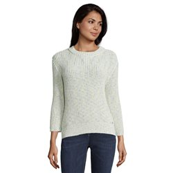 Betty & Co Chunky Ribbed Jumper Cream