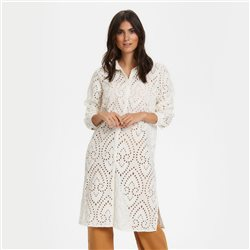 Part Two Broderie Anglaise Tunic Off White