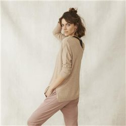 Part Two V Neck Vivian Jumper Beige