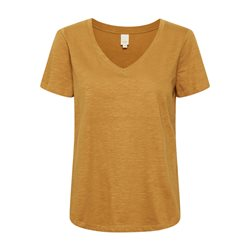 Part Two V Neck T Shirt Tobacco