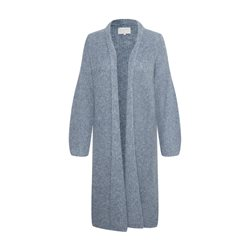 Part Two Long Knitted Jacket Blue