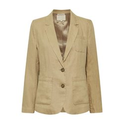 Part Two Linen Jacket Camel
