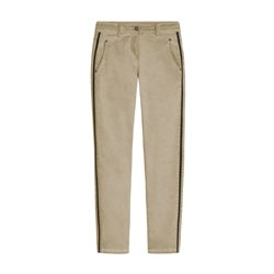 Sandwich Verona  Relaxed Fit Trousers With Piping Camel