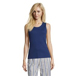 Betty Barclay Fine Ribbed Vest Blue