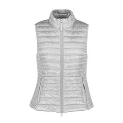 Betty Barclay Quilted Gilet Grey