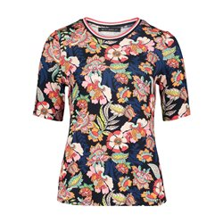 Betty Barclay Bold Floral Design Top Blue