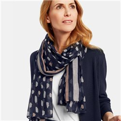 Gerry Weber Patterned Scarf Navy