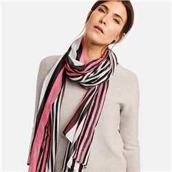 Gerry Weber Striped Scarf Black