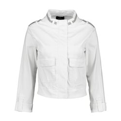 Monari Chain Detail Jacket White