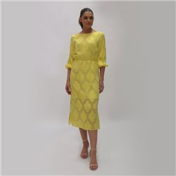 Fee G Midi Dress Lemon