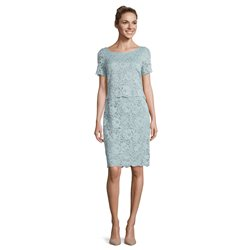Vera Mont Lace Dress Mint