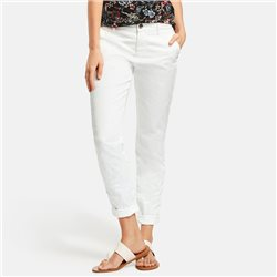 Taifun Stretch Cotton Chinos Off White