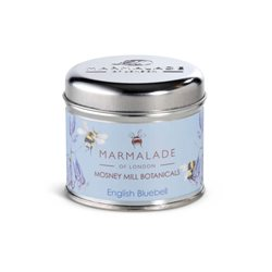 Marmalade Of London English Bluebell Medium Tin Candle Blue