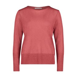 Betty & Co Fine Knit Jumper Pink