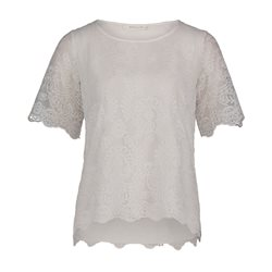 Betty & Co Lace Top Off White