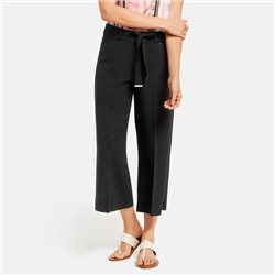 Taifun Culottes With Belt Black