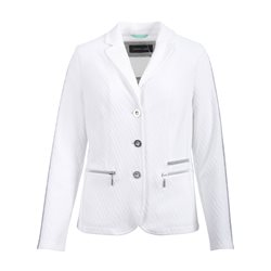 Lebek Stretch Blazer Off White