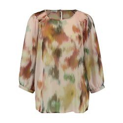 Gerry Weber Satin Top With 3/4 Sleeve Pink