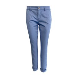 Taifun Stretch Cotton Chino Blue