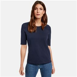 Gerry Weber Organic Cotton T-Shirt Navy