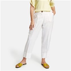 Gerry Weber Lyocell Trousers Off White