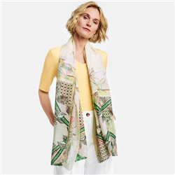 Gerry Weber Scarf With Patch Pattern Lemon