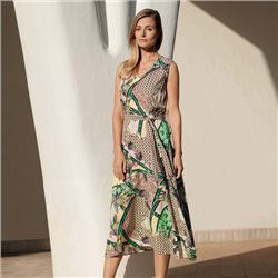 Gerry Weber Dress With Asymmetric Hem Lemon