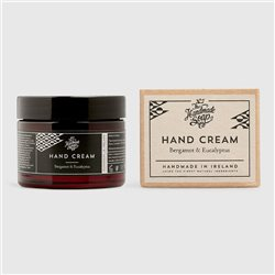 The Handmade Soap Company Bergamot & Eucalyptus Hand Cream Black