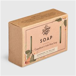 The Handmade Soap Company Grapefruit & Irish Moss Soap Pink