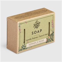 The Handmade Soap Company Lavender/ Rosemary/ Thyme & Mint Soap Green