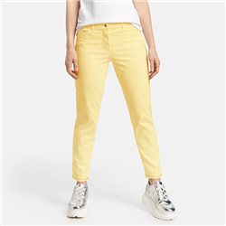 Gerry Weber 7/8 Trouser With Glitter Detail Yellow