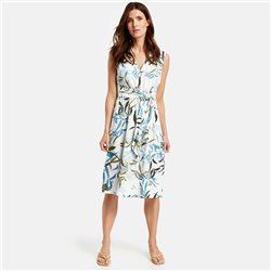 Gerry Weber Dress With Wrap Effect White