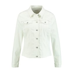 Gerry Weber Denim Jacket With Silver Detailing Off White