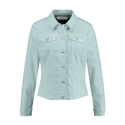 Gerry Weber Denim Jacket With Silver Detailing Blue