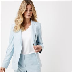 Gerry Weber Textured Blazer Blue