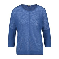 Gerry Weber Jumper With Front Seam Blue