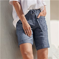 Gerry Weber Linen Shorts Blue