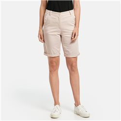 Gerry Weber Shorts With Turn Ups Beige