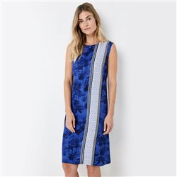 Gerry Weber Dress With Patch Pattern Blue