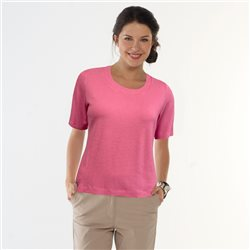 Bicalla Textured Top Pink