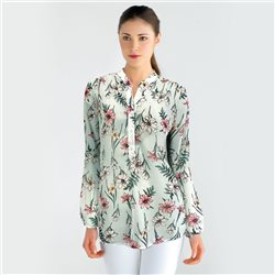 Bicalla Floral Print Blouse Mint
