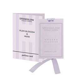 Stoneglow Modern Classics Plum Blossom & Musk Perfume Card Lilac