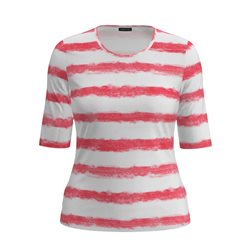 Lebek Striped Top Pink