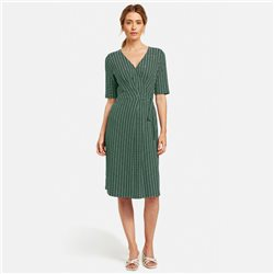 Gerry Weber Jersey Wrap Dress Green