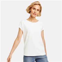 Gerry Weber Organic Cotton Top Off White