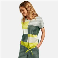 Gerry Weber Graphic Patterned Top Green