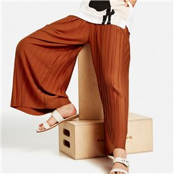 Taifun Pleated Culottes Rust
